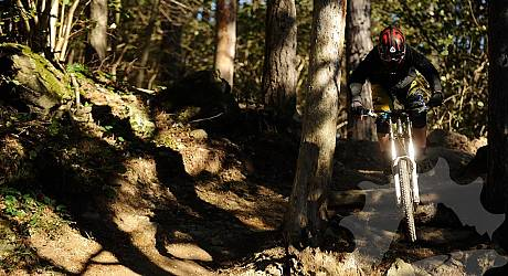 Mountainbike Freeride Tour: Base NATO & Sentiero H