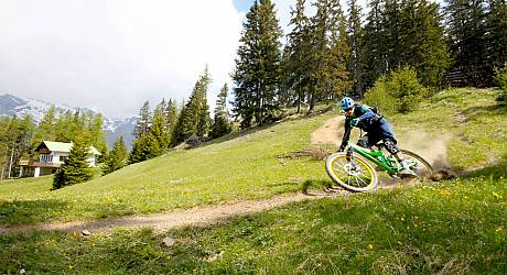 Mountainbike Freeride Tour: Mutzkopf Enduro Trails