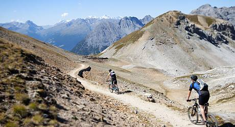 Mountainbike Enduro Tour: Bocchetta Forcola - Val Mora