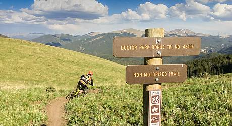 Mountainbike Enduro Tour: Doktor Park Trail