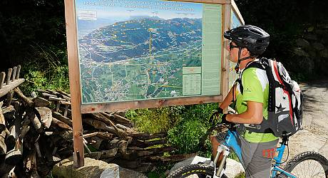 Mountainbike AllMountain Tour: Meran Highline Tour