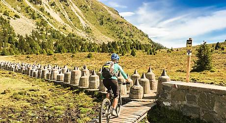 Mountainbike AllMountain Tour: Doppelte Bunkertour