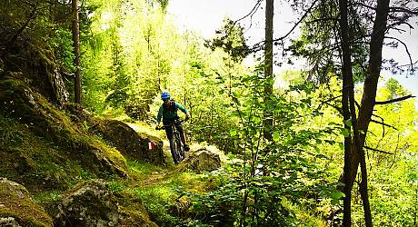 Mountainbike Enduro Tour: Tirano Schmugglertrails