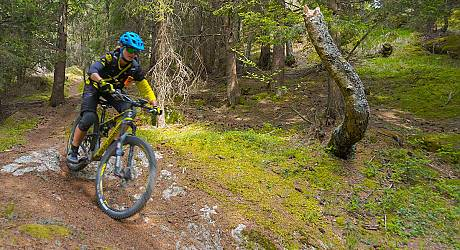 Mountainbike Enduro Tour: Monte Padrio Bike Trail