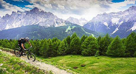 Mountainbike Freeride Tour: Bahnen und Trails Tour