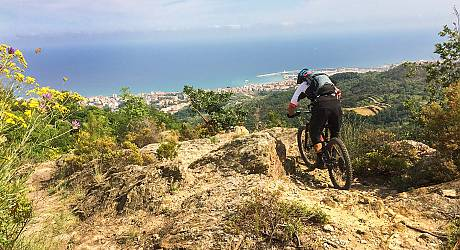 Mountainbike Freeride Tour: Monte Carmo