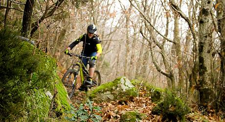 Mountainbike AllMountain Tour: Perone Sud Trails