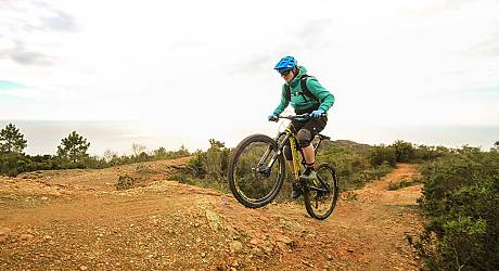 Mountainbike AllMountain Tour: Calamita Trails