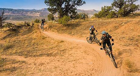 Mountainbike AllMountain Tour: Kokopelli Loops