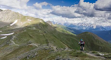 Mountainbike Enduro Tour: Demutpassage & Monte Spina