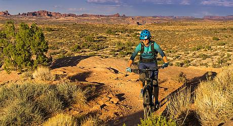 Mountainbike Enduro Tour: Moab Brand Trailcenter
