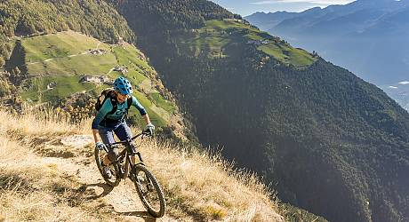Mountainbike AllMountain Tour: Sonnenberg Cross mit Propain Trail