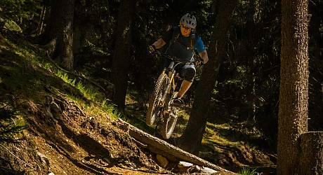 Mountainbike Freeride Tour: Tarscher Alm Barbarossa Trails