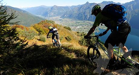 Mountainbike AllMountain Tour: Forte Cima Ora