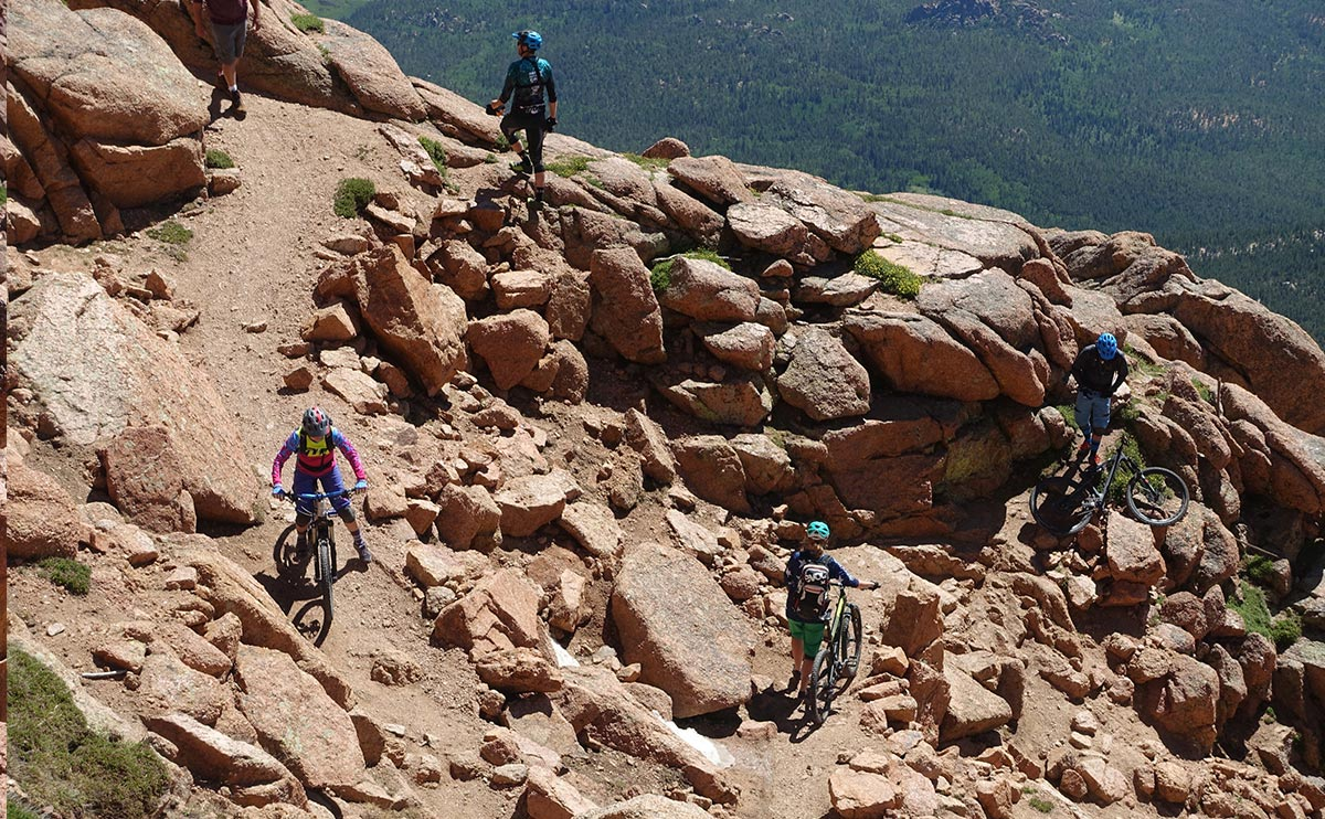 Barr Trail am Pikes Peak