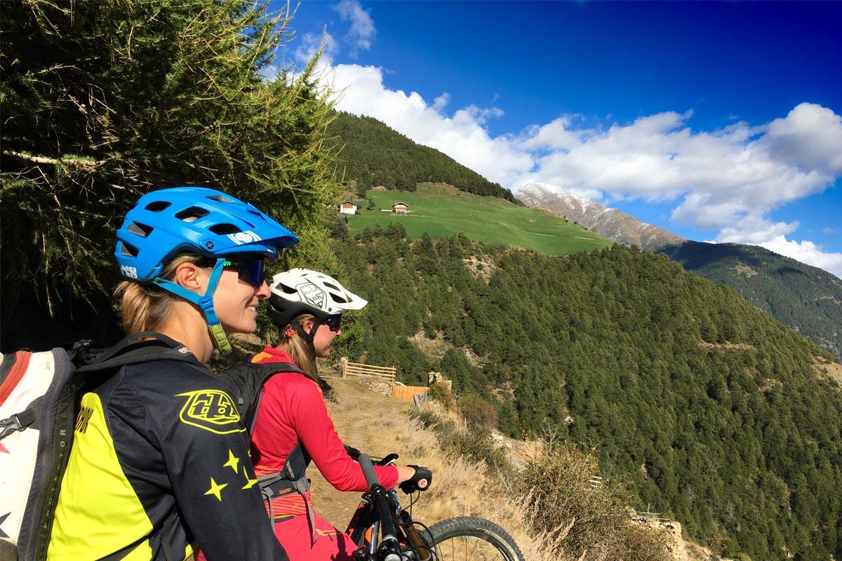 Zugtrail Mix Vinschgau Enduro Trails Schluderns Goldrain